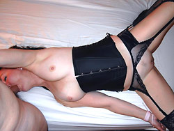 Sex pics with a real submissive wife