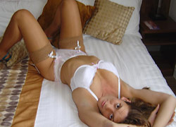 Nudes of a real amateur wife in sexy lingerie