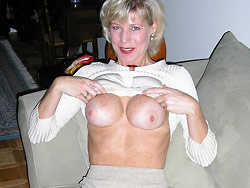 Amateur wife over 40 boob pics