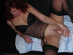 Homemade sex pics with a hot MILF wife