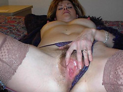 Homemade blowjob pics with real MILF wife