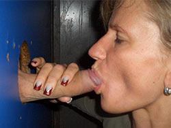 Blowjobs pics from a hot amateur MILF