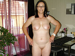 Mix of real wives and MILFs naked