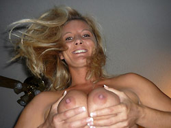 Huge facial cumshots for a real amateur wife