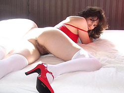 Homemade nudes of hot amateur wife in lingerie