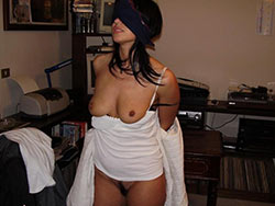 Nude pics of a real submissive wife