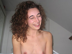 Funny amateur wife gives a blowjob