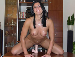 Milf and dildo