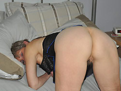 Nude pics from a real mature wife