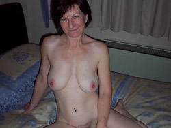 Nude pics of a real older woman
