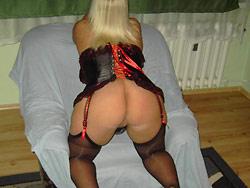 Hot MILF slut in sexy lingerie
