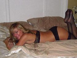 Hot wife lingerie photos