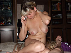 Homemade blowjob pics from a real wife