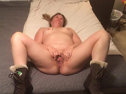 Nude pics of a BBW wife