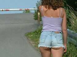 Outdoor sex pics from a hot amateur wife
