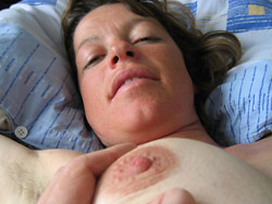 Fucking my mature wife at home