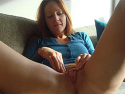 Wife spreading her pussy