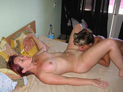 Wife eating pussy