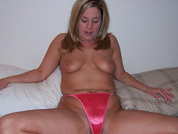 Homemade porn pictures with a real MILF wife