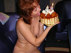 Nudes of a real wife over 40
