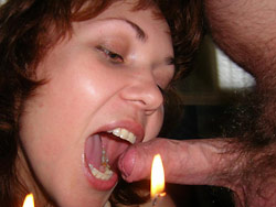Blowjob from the wife