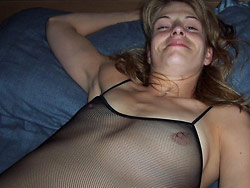 Homemade porn pics from this real amateur couple