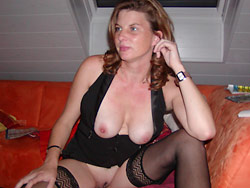 Mature wife on a sex vacation
