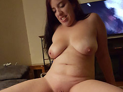 Nudes of a big-tit amateur MILF