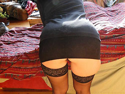 Naked pictures of a mature amateur wife