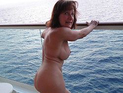 Old amateur wife naked